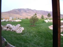 View from Patio towards the Golf Course